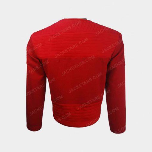 Black Mirror Robert Daly Jesse Plemons Leather Jacket