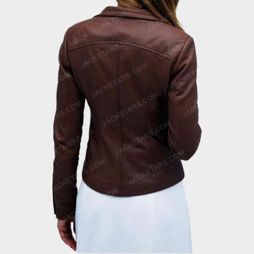 Arrow Marie Anderson Lyla Michaels Brown Jacket