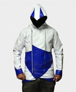 Assassins Creed Hoodie Leather Jacket