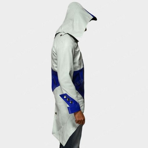 Assassins Creed Hoodie White Jacket