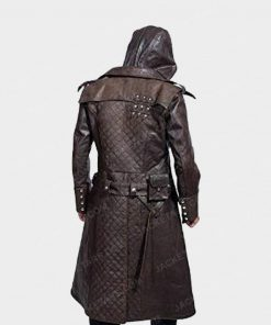 Assassins Creed Jacob Frye Leather Coat