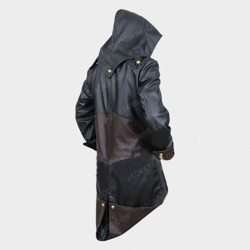 Assassins Creed Unity Arno Black Leather Jacket