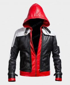 Batman Arkham Knight Hoodie Leather Jacket