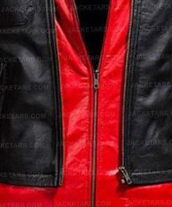 Batman Arkham Knight Hoodie Red Jacket