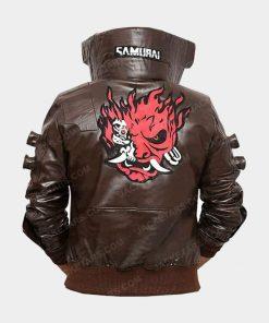 Cyberpunk 2077 Samurai Brown Jacket