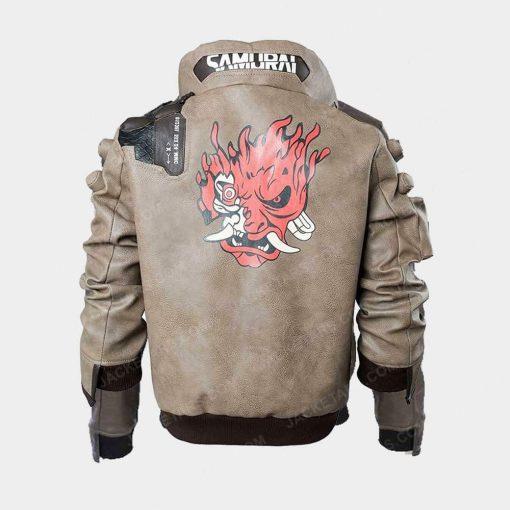 Cyberpunk 2077 Samurai Camel Jacket