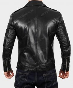 Darins Black Biker Jacket