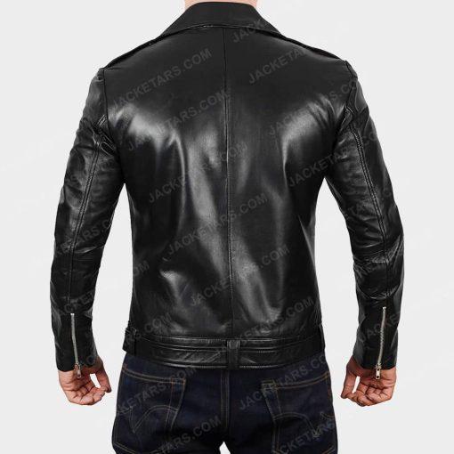 Darins Black Biker Jacket