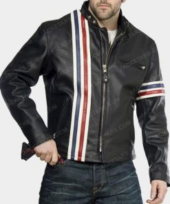 Easy Rider Peter Fonda Black Leather Jacket