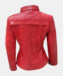 Emma Swan Once Upon A Time Red Leather Jackets