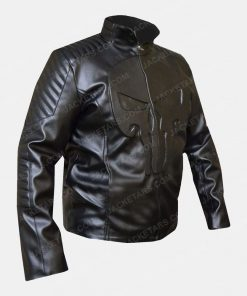 Frank Castle The Punisher Black Jacket