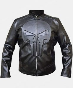 Frank Castle The Punisher Thomas Jane Black Skull Jacket
