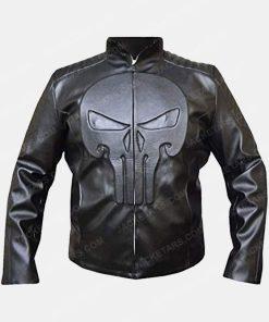 Frank Castle The Punisher Thomas Jane Black Skull Jacket