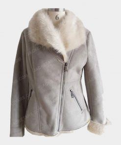 Ladies Bomber Fancy Fur Jackets
