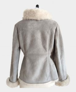 Ladies Bomber Fancy Stylish Fur Jacket