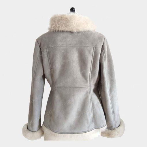Ladies Bomber Fancy Stylish Fur Jacket