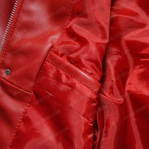 Men Beat It Red Jacket
