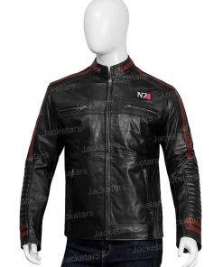 Men N7 Mass Effect 3 Cafe Racer Jacket