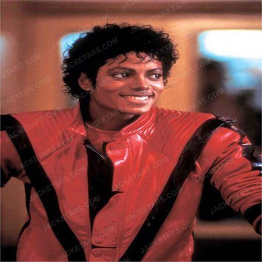 Michael Jackson Thriller Red Leather jacket