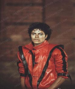 Michael Jackson Thriller Red Leather jackets