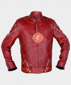The Flash Barry Allen Leather Jacket