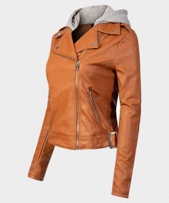 Women Orange Jacket