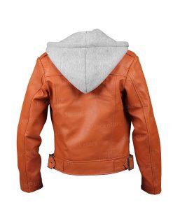 Women Orange Olivia Leather Jacket.jpg