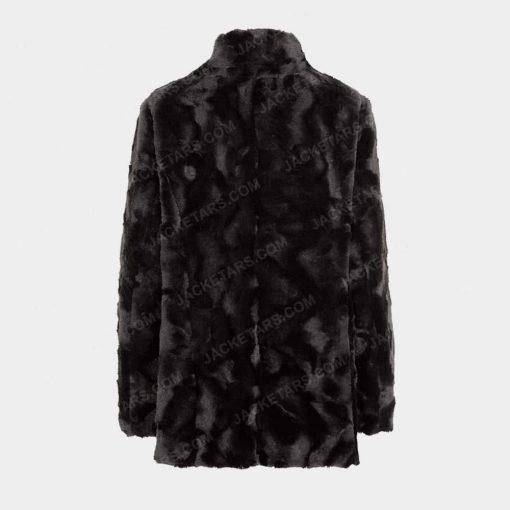 Womens Fur Leather Jacket