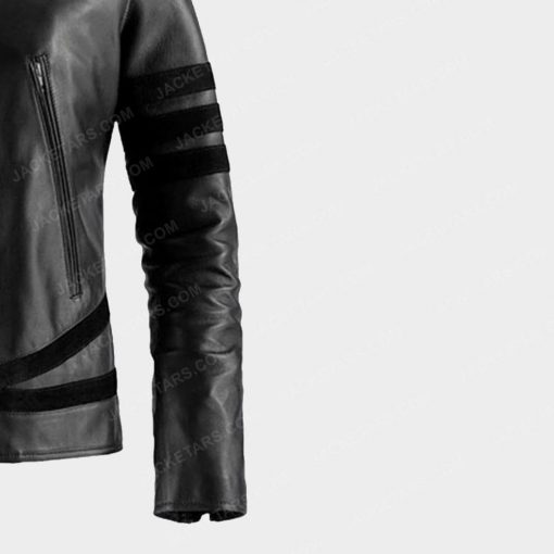 X MEN Wolverine Leather Jacket