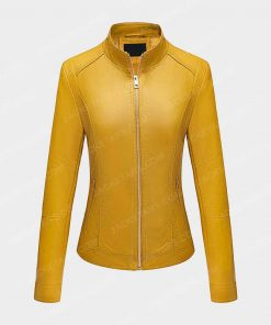 Womens Bellivera Yellow Jacket
