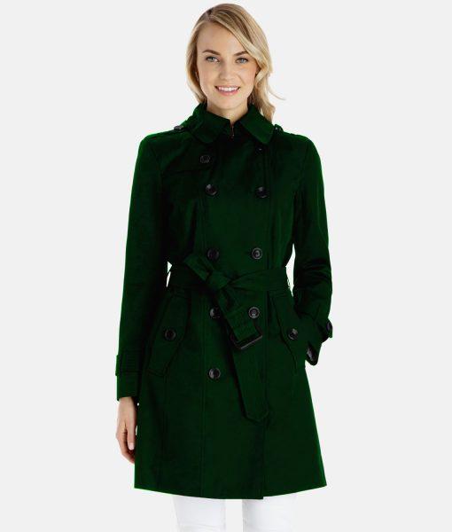 Amy Adams Justice League Green Jacket