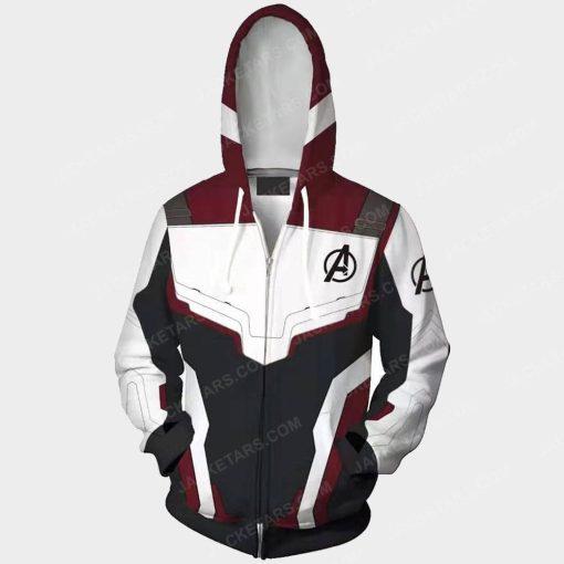Avengers Endgame Quantum Hoodie Costume