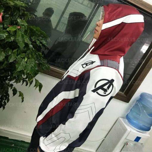 Avengers Endgame Quantum Realm Hoodie Costume