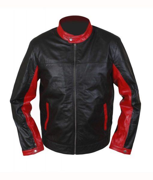 Burce Wayne Cafe Racer Jacket
