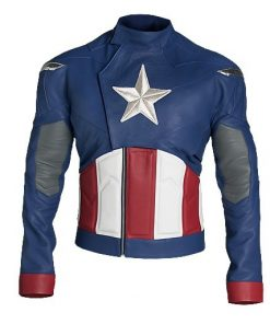 Captain America The Averngers Steve Rogers Jacket
