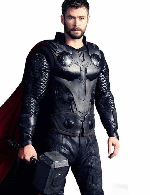 Chris Hems Worth Avengers Infinity War Jacket