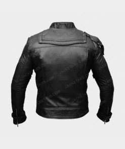 Chris Pratt Star Lord Black Leather Jacket