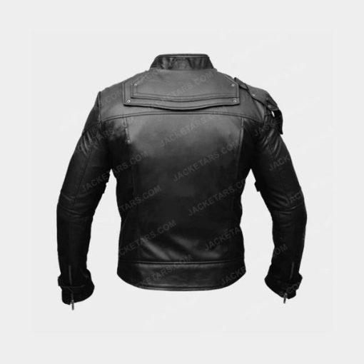 Chris Pratt Star Lord Black Leather Jacket