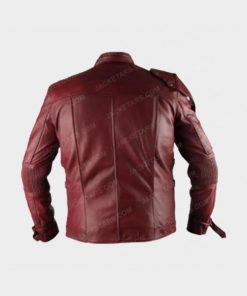 Chris Pratt Star Lord Red Jacket