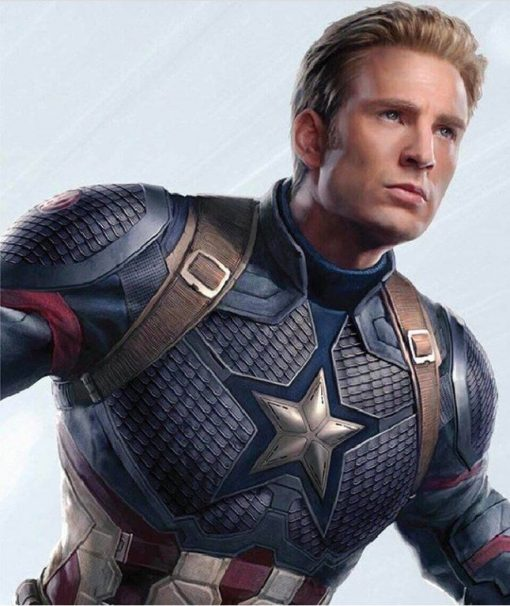 Endgame Captain America Leather Jacket