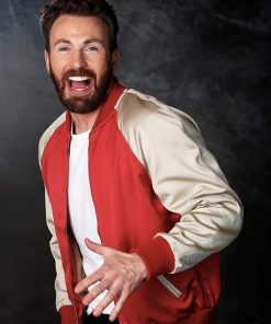Endgame Premiere Chris Evans Jacket