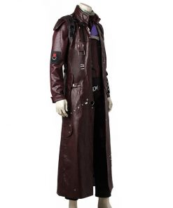 Guardians Of The Galaxy Vol 2 Maroon Trench Coat