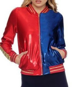 Harley Quinn Suicide Squad Bomber Jacket