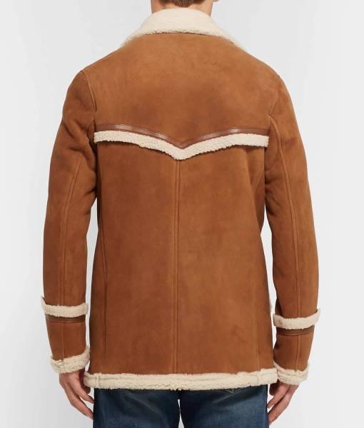 Kingsman The Golden Circle Harry Hart Fur Coat