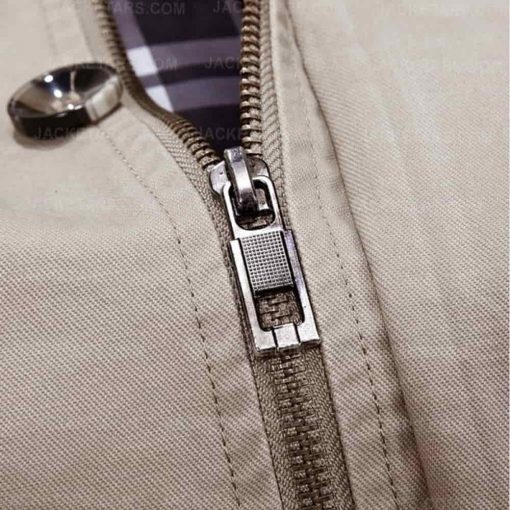 Hooded Multi Pockets Single Breasted Zip Up