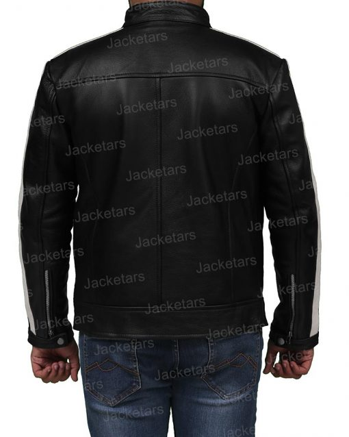 Mens Cafe Racer Black Leather Jacket.jpg