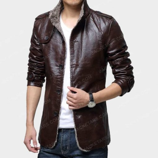 Mens Classic Motorcycle Biker Leather Jackets