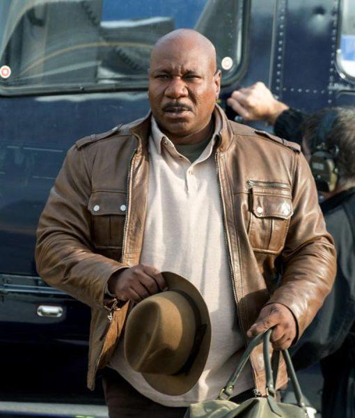Mission Impossible 5 Ving Rhames Brown Jacket