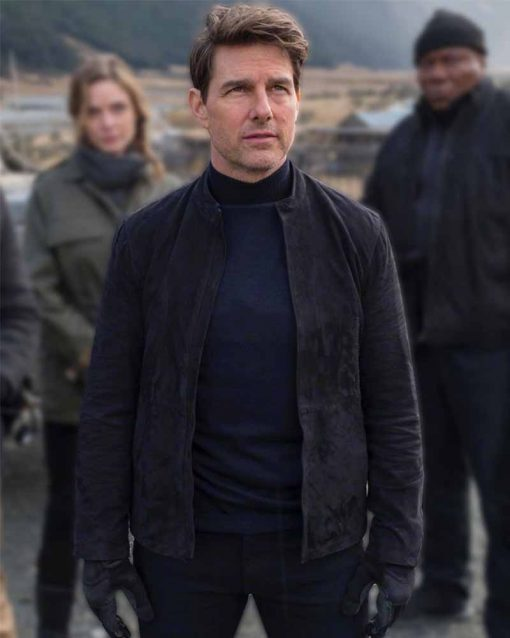 Mission Impossible 6 Tom Cruise Suede Jacket