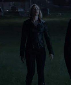 Natasha Romanoff Avengers Endgame Black Jacket